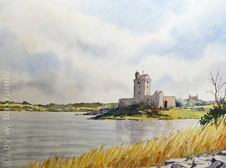 das Dunguaire-Castle in Irland